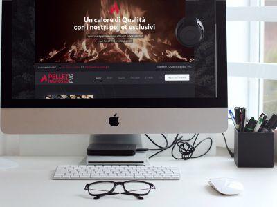 WP NO STRESS ha realizzato il sito e-commerce con WordPress e WooCommerce di PELLET INGROSSO FVG.
