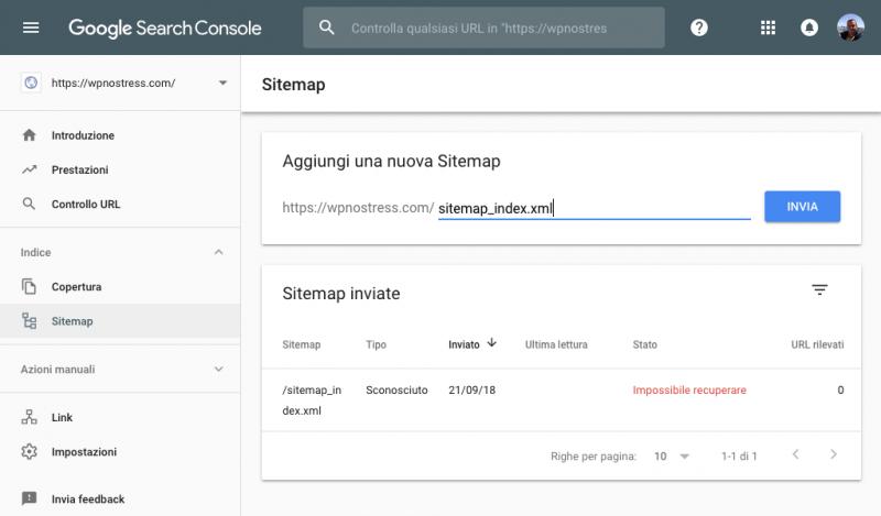 Come indicizzare il tuo sito WordPress in Google - 8