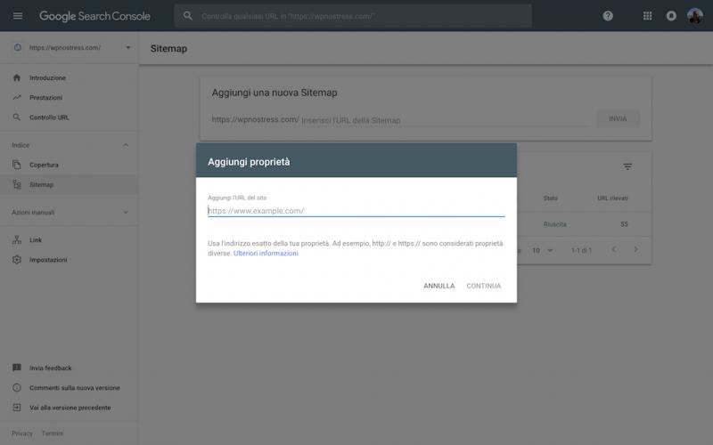 Come indicizzare il tuo sito WordPress in Google - 4