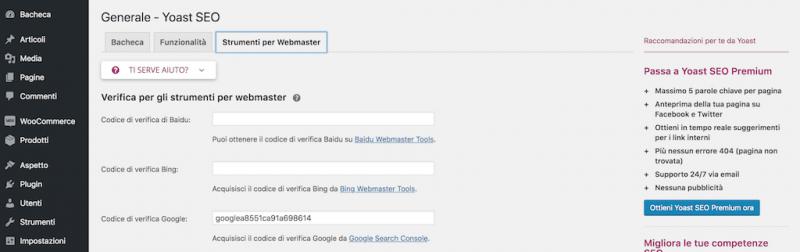 Come indicizzare il tuo sito WordPress in Google - 6
