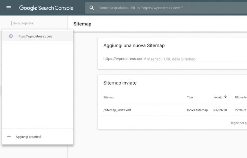 Come indicizzare il tuo sito WordPress in Google - 3